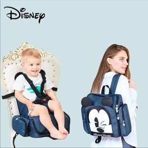 Disney Multifunctional Diaper Bag Mommy Backpack